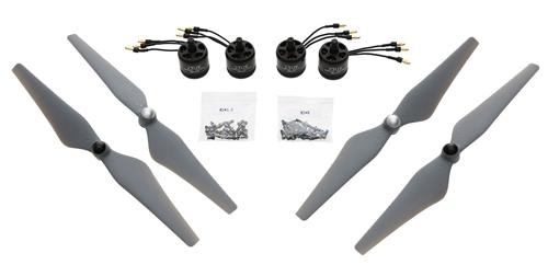 Set de propulsion DJI E305 4 moteurs 800KV sans ESC