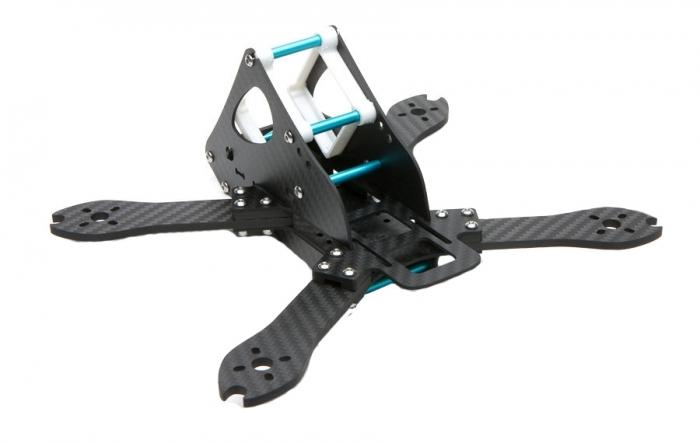 Shendrones Corgi 220 vue de biais dos