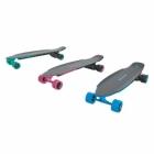 Le skate électrique Yuneec E-GO2 se décline en 3 couleurs différentes : Royal Wave, Cool Mint et Hot Lady.