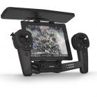 Skycontroller Black Edition Parrot avec tablette vue de biais
