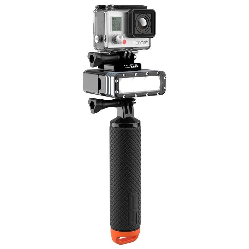 La lampe POV light 2.0 est compatible avec toutes les fixations GoPro
