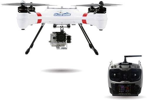 Splash Drone SwellPro AUTO+ avec radio AT9