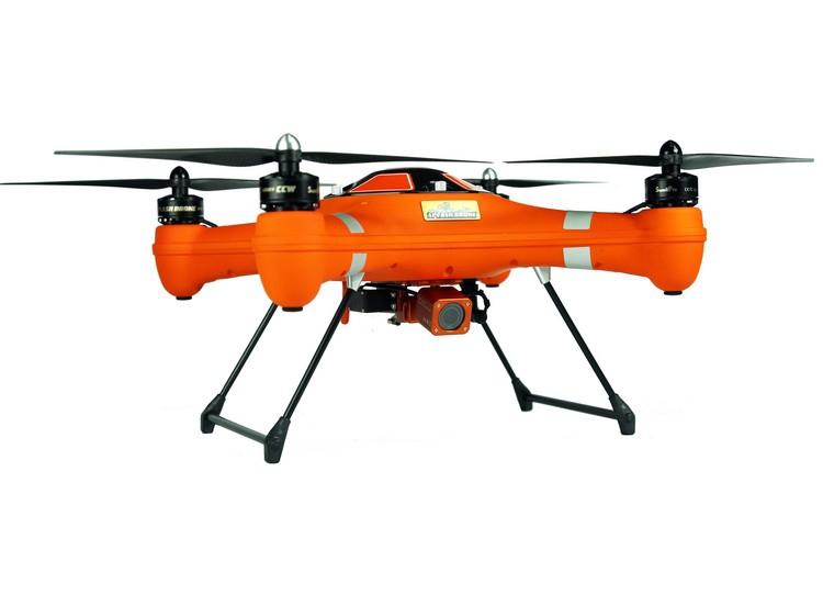 Splash Drone SaR SwellPro - vue de côté
