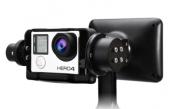 Zoom sur le stabilisateur Wenpod GP1+ avec GoPro Hero 3