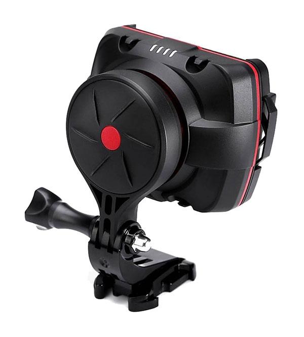Stabilisateur WenPod X1 pour GoPro et smartphones - vue de derrière