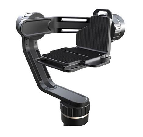 Zoom sur la platine du steadycam Feiyu MG Lite pour appareil photo - vue de face