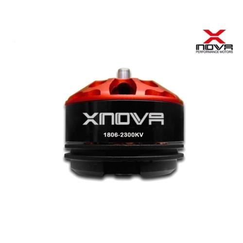 Support d'hélice pour moteur Xnova 18XX vue moteur