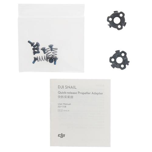 Supports d'hélice QR pour moteur DJI Snail Racing