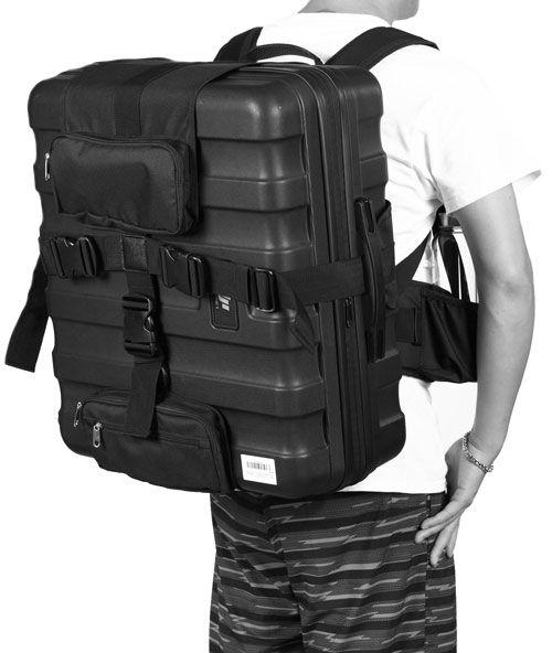 syst me sac dos pour valise dji inspire 1. Black Bedroom Furniture Sets. Home Design Ideas