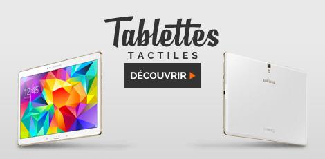 Tablettes tactiles - Noel 2015