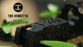 Drone racer TBS Vendetta ARF - détail du fuselage