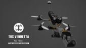Drone racer TBS Vendetta - modulaire