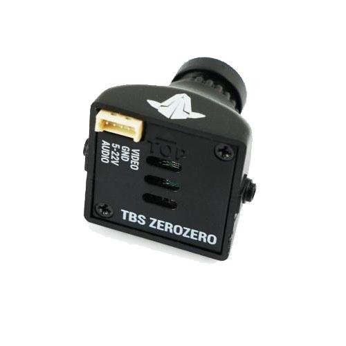 tbs zero zero camera ccd 650l fpv - vue arrière