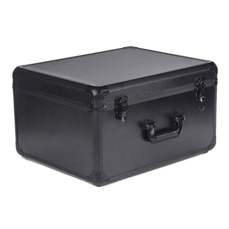 Valise en aluminium noire pour Yuneec Typhoon H verrouillée
