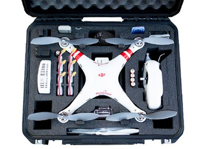 Valise Copter Case pour DJI Phantom - Photo 1