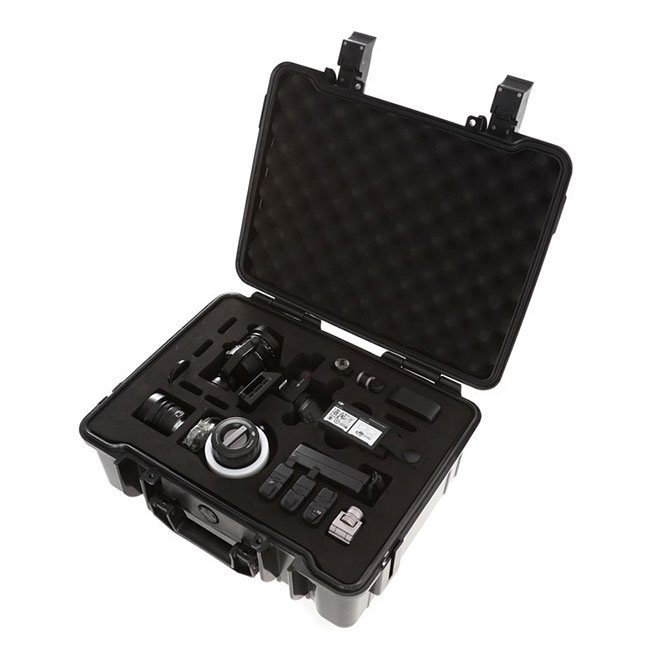 Valise de rangement pour DJI Osmo RAW avec accessoires rangés