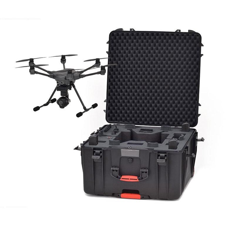 La valise HPRC 4600W permet d'accueillir le Yuneec Typhoon H ainsi que tous ses accessoires