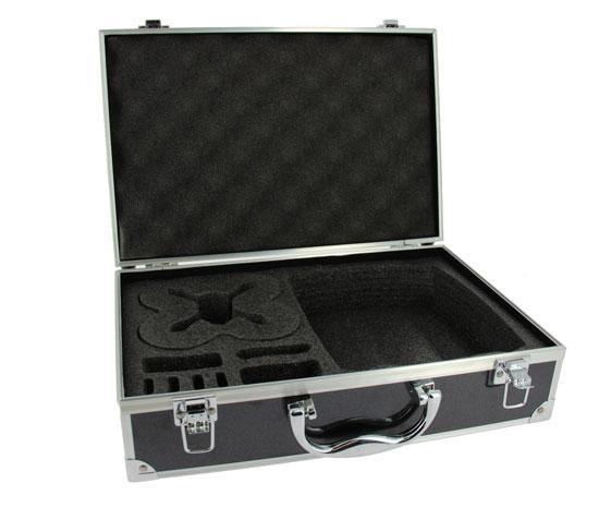 Votre valise pour Hubsan FPV protège votre drone grâce à des mousses résistantes.