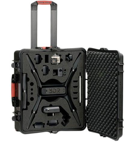 Valise Plaber robuste et étanche pour multirotor drone 3D Robotics Solo