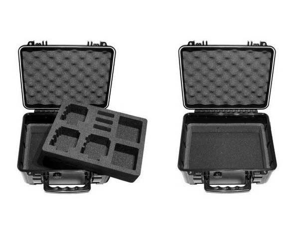Valise S3 - T6500 - pour 3 ou 4 GoPro (au choix)