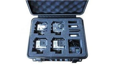 Valise S3 - T6500 - pour 4 GoPro - vue de haut