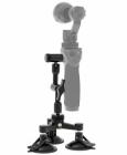 Système à 3 ventouses pour une meilleure fixation du DJI Osmo sur pare-brise ou sur une vitre