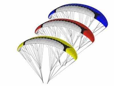 Voile Spiral 2.4 Rouge Opale Paramodels