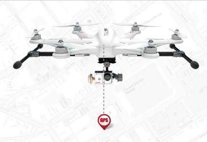 Hexacoptère Walkera Tali H500 stabilisation GPS