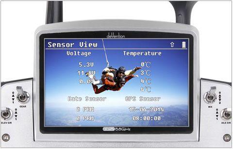 Walkera Tali H500 avec télémétrie sur retour vidéo