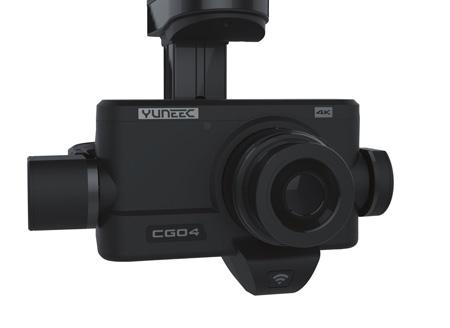 Caméra nacelle Yuneec CGO4 4K collaboration Panasonic