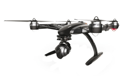 Multirotor Yuneec Q500 4K Typhoon 45 degrés