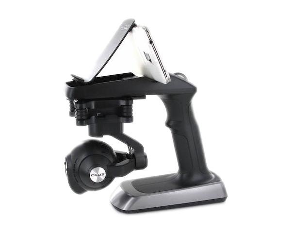 Caméra CGO3 4K et steadygrip Yuneec