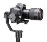 Zoom sur le Zhiyun Crane V1.1 avec appareil photo