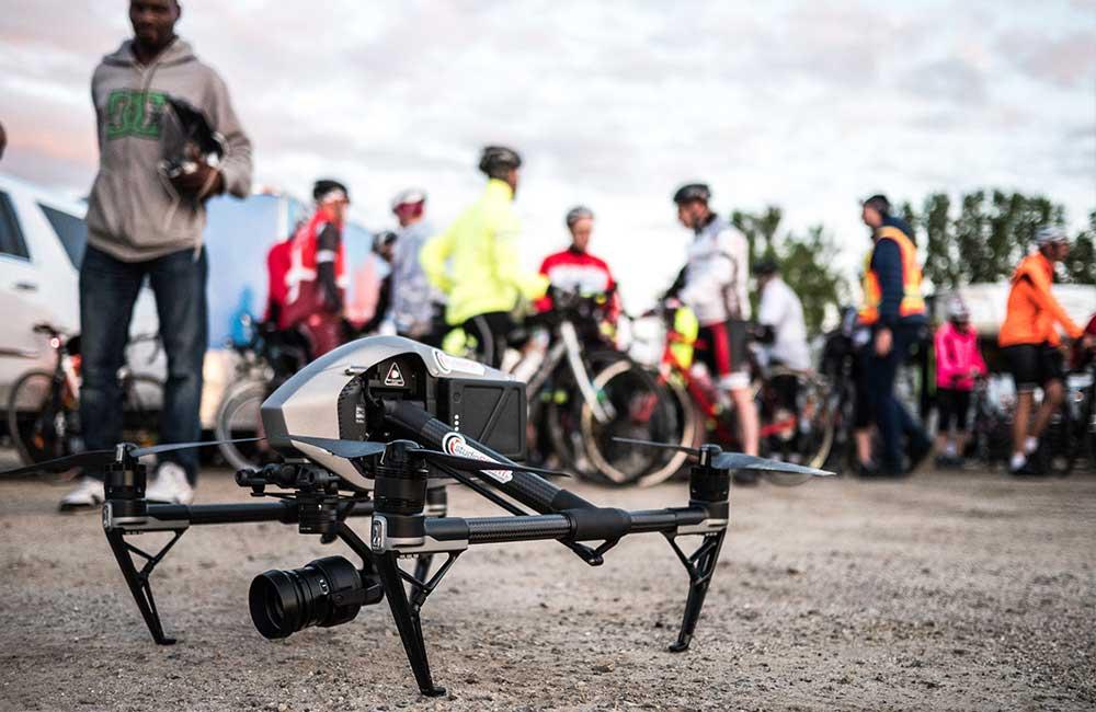 De quoi est composé un drone ?