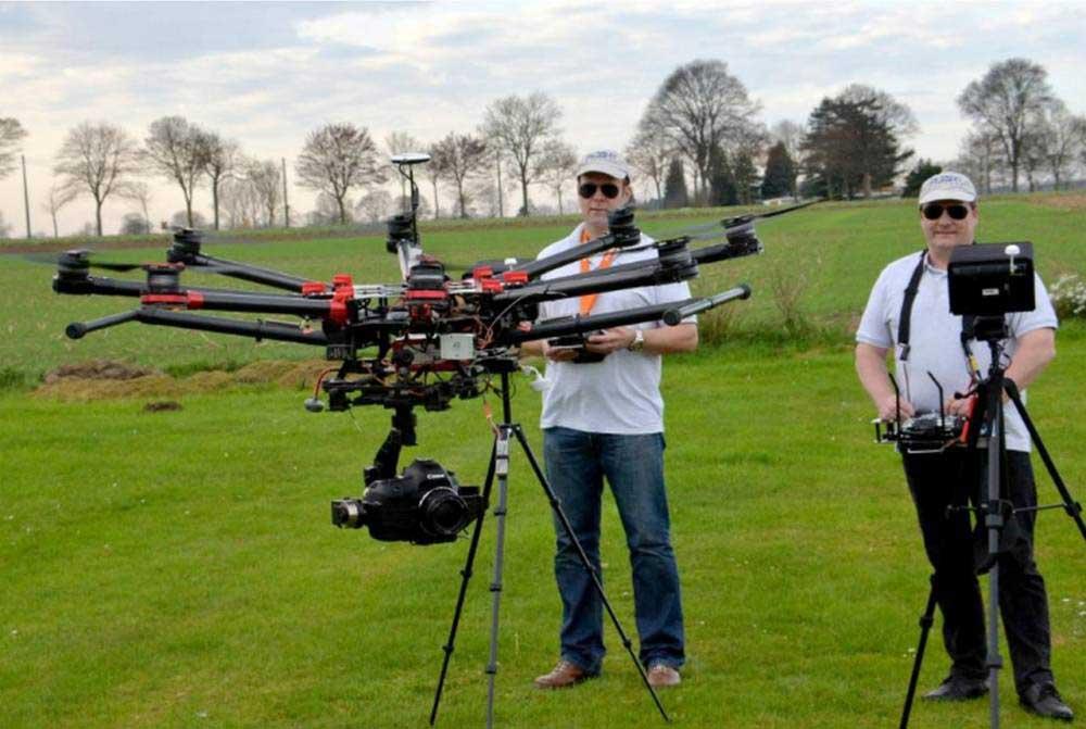 Devenir pilote de drone professionnel