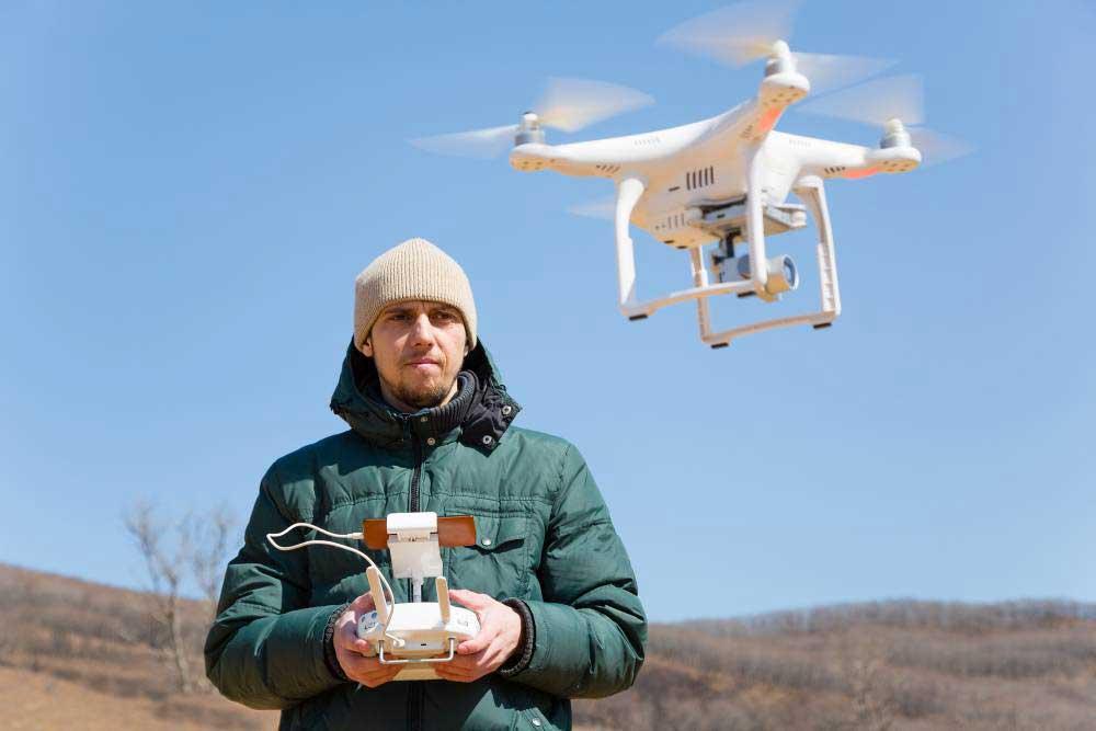 Être pilote de drone