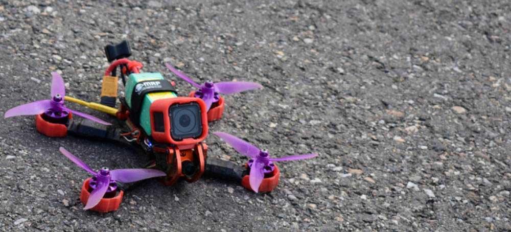 Fabriquer un drone de course FPV