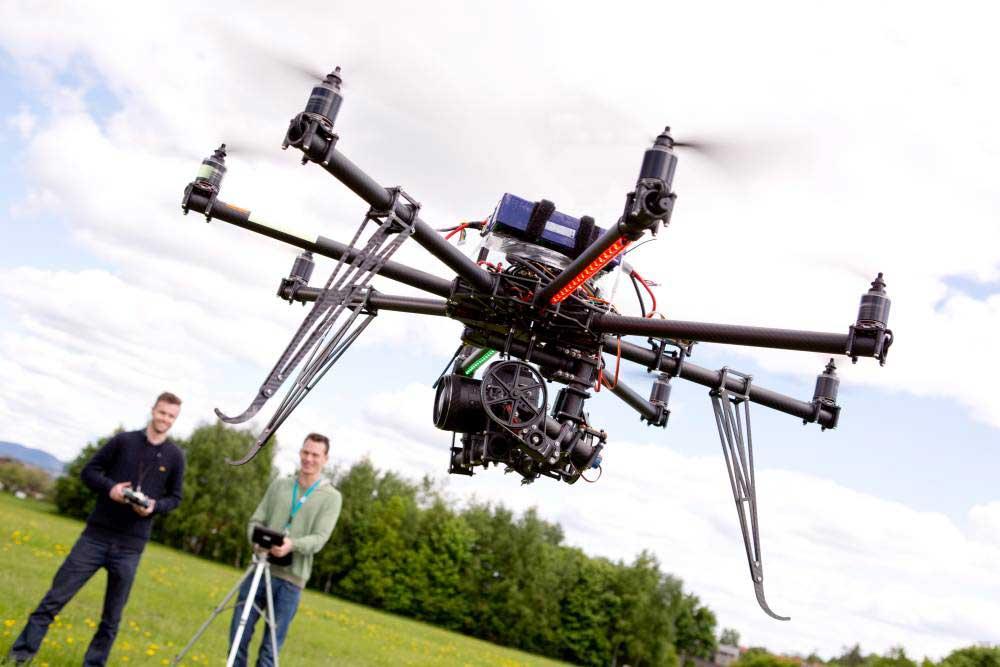 Quel drone pour des prises de vue aériennes professionnelles ?