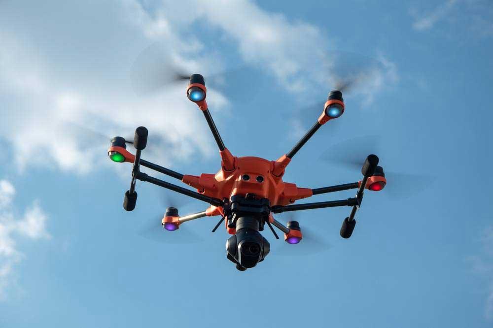 Quelle est la date d'invention du drone ?