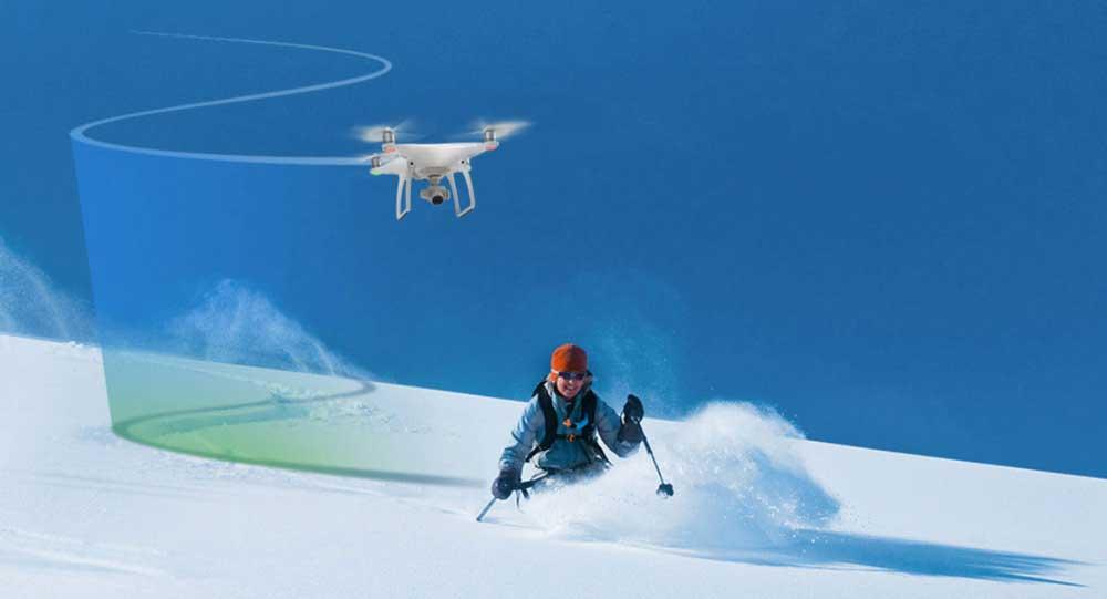 Un drone qui te suit automatiquement
