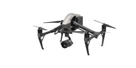 Découvrez le drone DJI Inspire 2 dans sa version homologuée dans les scénarios S1, S2 et S3