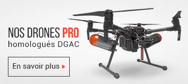 Nos drones pro homologués