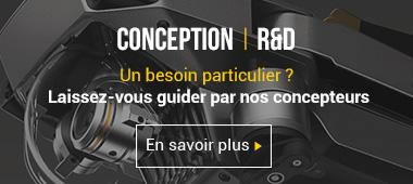 Conception et R&D