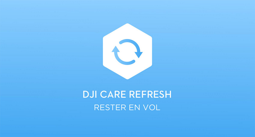 DJI Care Refresh pour drones DJI