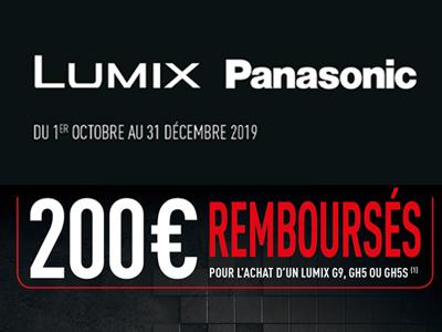 Offres Panasonic