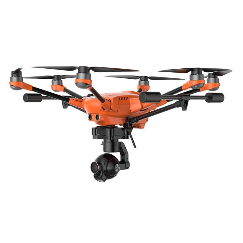 Le Yuneec H520 associé à la caméra E50 offre une solution d'inspection d'ouvrages difficiles d'accès très efficace.