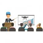 Session de démonstration drones professionnels (-2kg)