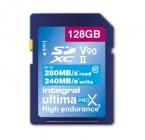128GB SDXC CL10 USH 2 U3 V90