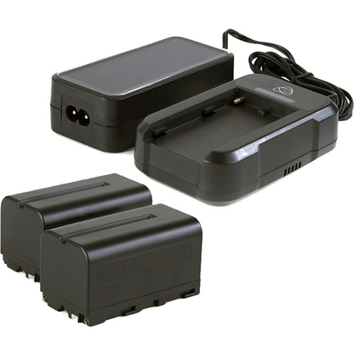 2 batteries NP-F750 5200 mAh + 1 chargeur