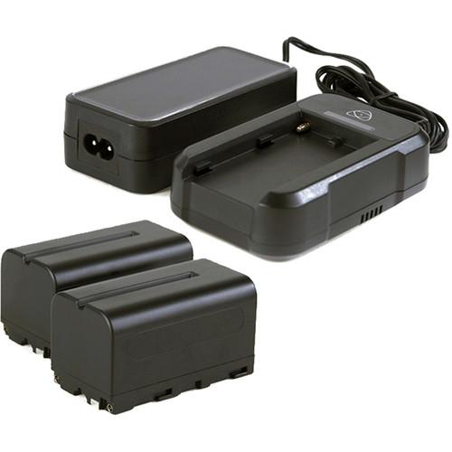 2 batteries NP-F750 5200 mAh + 1 chargeur
